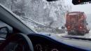 태백 폭설로인한 나무 쓰러져 도로 차단
