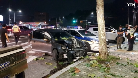 [사고현장] 음주운전 도주 사고